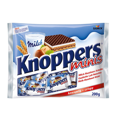 Knoppers Minis - Chocolate & More Delights