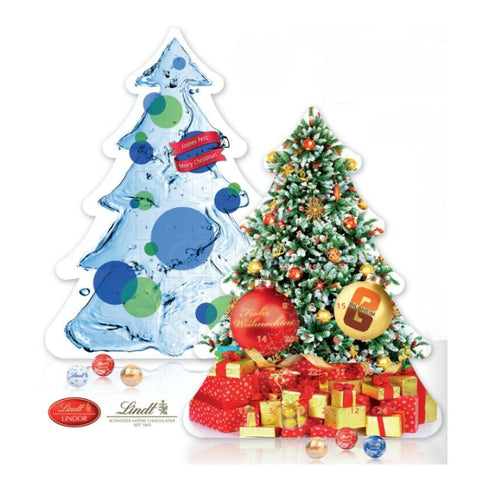 LIndt Custom Advent Calendar Christmas Tree - Chocolate & More Delights