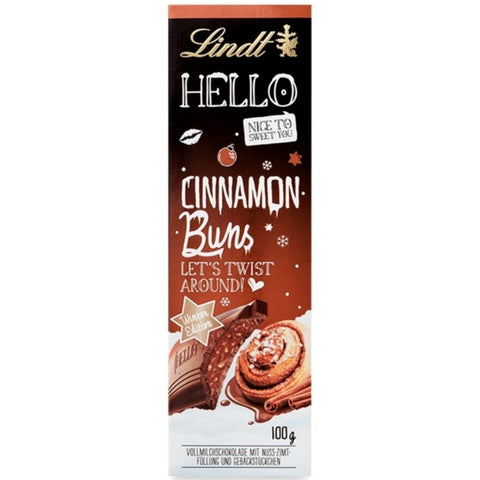 Lindt Hello Xmas Chocolate Cinnamon Buns - Chocolate & More Delights