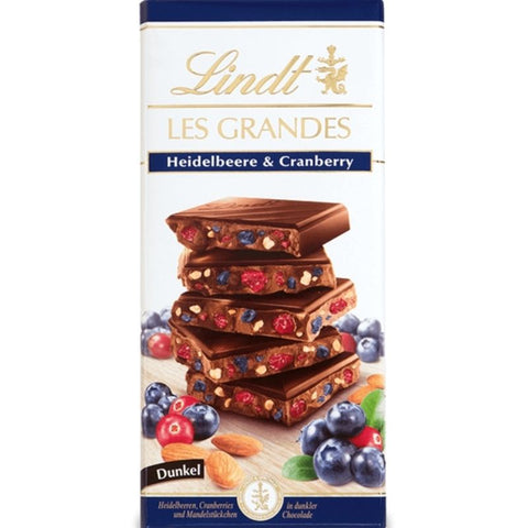 Lindt Les Grandes - Blueberry & Cranberry - Chocolate & More Delights