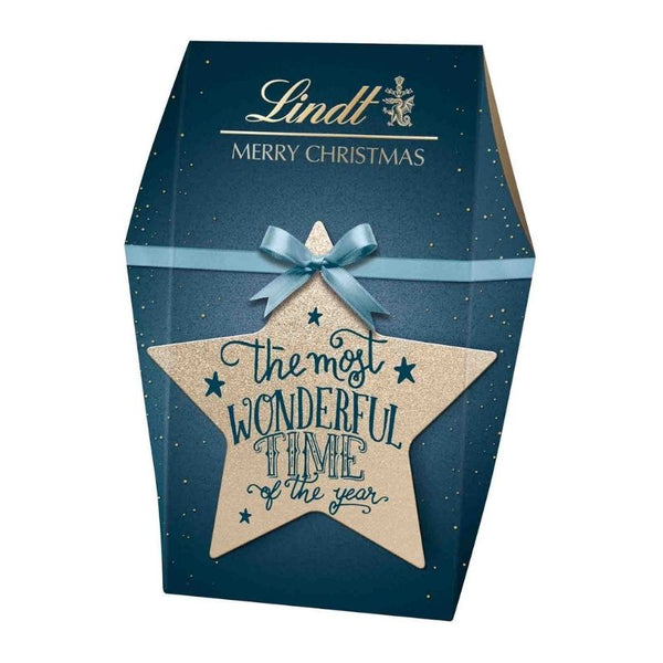 Lindt X-Mas Calligraphy Gift Bag 141 g - Chocolate & More Delights
