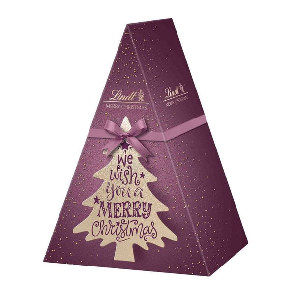 Lindt X-Mas Calligraphy Gift Box Tree 105 g - Chocolate & More Delights