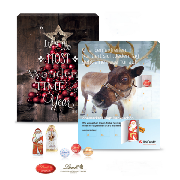 Lindt Custom Advent Calender Gourmet - Chocolate & More Delights