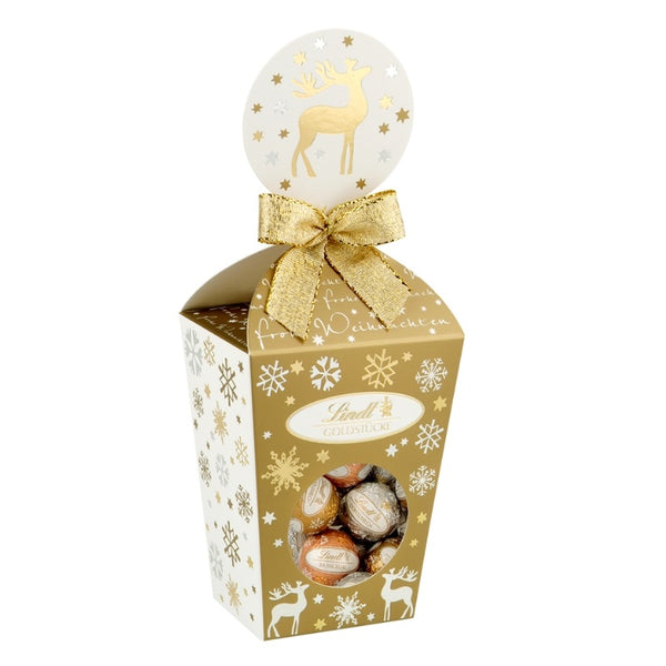 Lindt Christmas Milk Chocolate Gift Box - Chocolate & More Delights