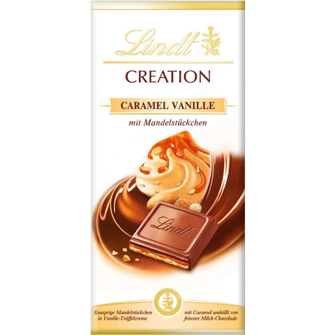 Lindt Creation - Caramel Vanilla-Chocolate Bar-Chocolate & More Delights