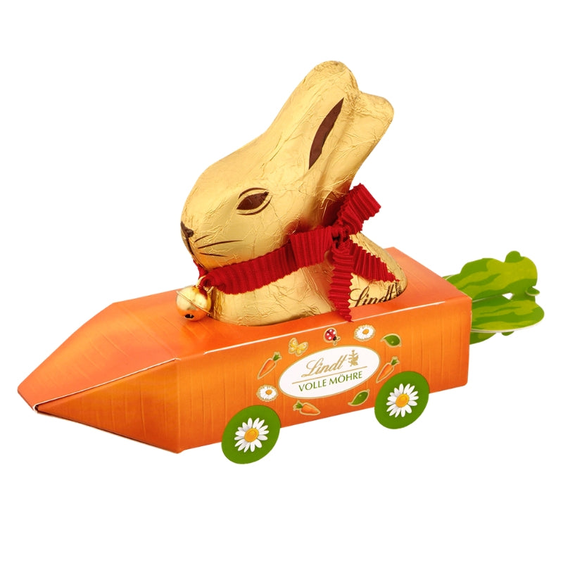 Lindt Easter Carrot Bunny Car