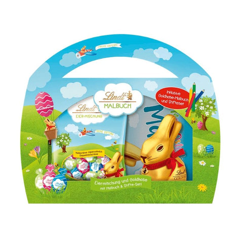 Lindt Easter Chocolate With Coloring Book - Chocolate & More Delights