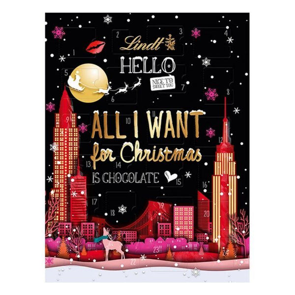 Lindt Hello All I Want For Christmas Advent Calendar - Chocolate & More Delights