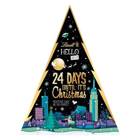 Lindt Hello Christmas Countdown Advent Calendar - Chocolate & More Delights