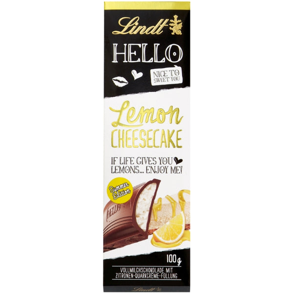 Lindt Hello Lemon Cheesecake - Chocolate & More Delights