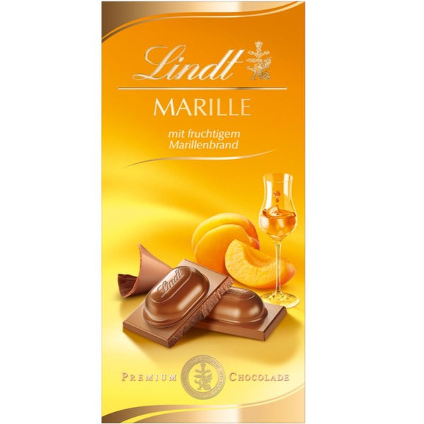 Lindt Liquor Filled Chocolate Apricot - Chocolate & More Delights