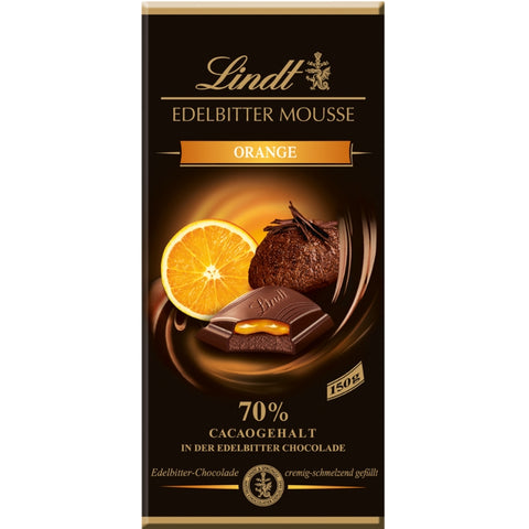 Lindt Mousse Au Chocolat Orange - Chocolate & More Delights