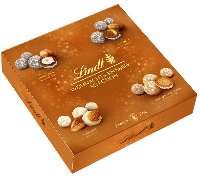 Lindt X-Mas Nuts & Almonds