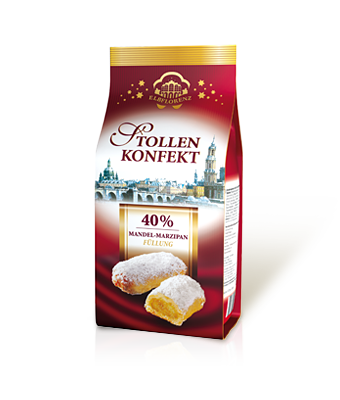 Stollen Confectionery Almond Marzipan