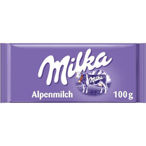 Milka Alpine Milk Chocolate Bar - Chocolate & More Delights