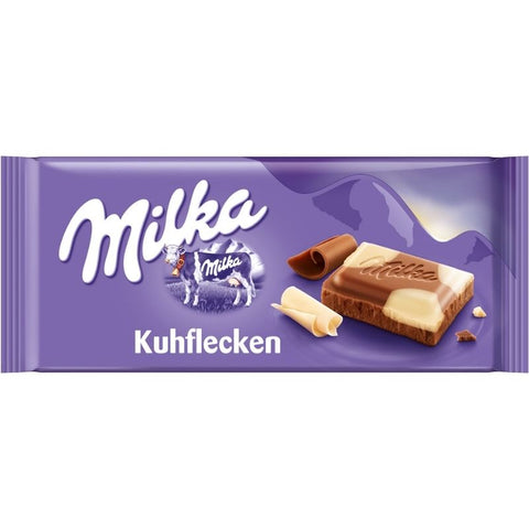 Milka Black & White Chocolate Bar - Chocolate & More Delights