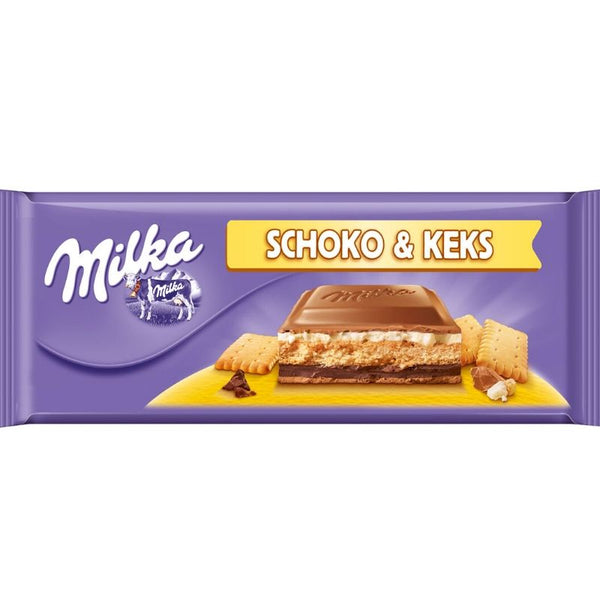 Milka Cookies & Chocolate - Chocolate & More Delights