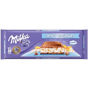 Milka Bar XXL Crispy Yogurt-Chocolate Bar-Chocolate & More Delights