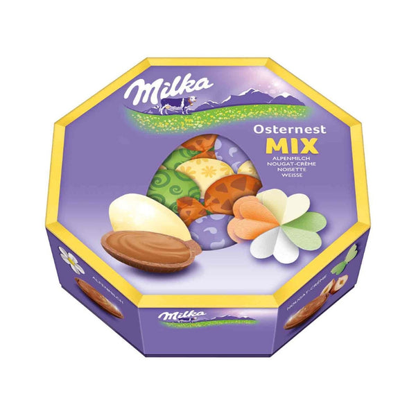 Milka Easter Eggs Gift Box - Chocolate & More Delights