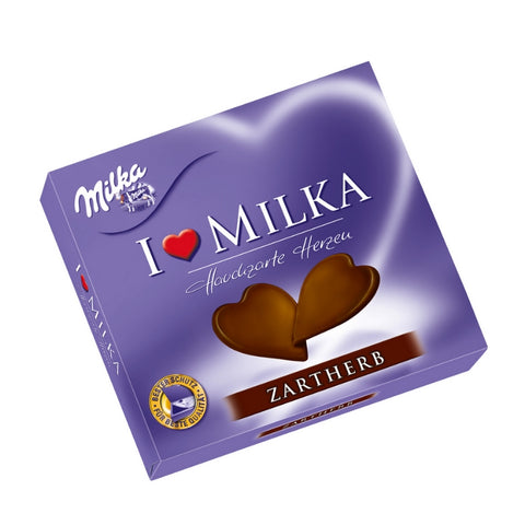 Milka - Dark Chocolate Hearts-Chocolate Minis-Chocolate & More Delights