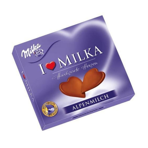 Milka - Milk Chocolate Hearts-Chocolate Minis-Chocolate & More Delights