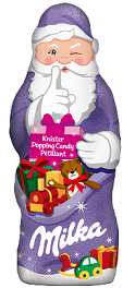 Milka Santa Claus Popping Candy-Chocolate & More Delights