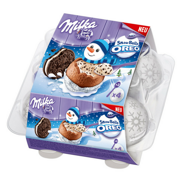 Milka Snow Balls Oero - Chocolate & More Delights