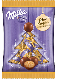 Milka Snow Balls Brittle-Chocolate & More Delights