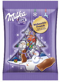 Milka X-Mas Friends-Chocolate & More Delights