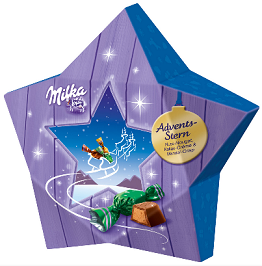 Milka X-Mas Star-Chocolate & More Delights