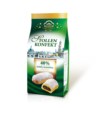 Stollen Confectionery Poppyseed Marzipan