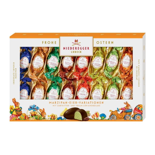 Niederegger Easter Egg Marzipan Variety Milk & Dark Chocolate - Chocolate & More Delights