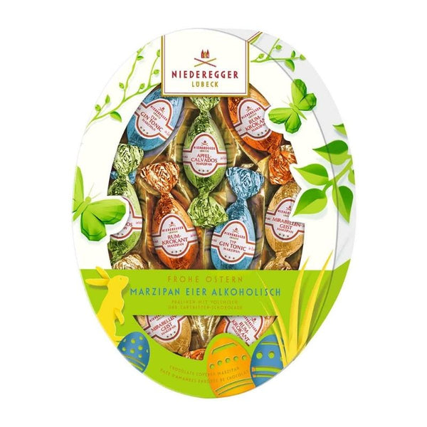 Niederegger Easter Egg Marzipan Variety With Alcohol - Chocolate & More Delights