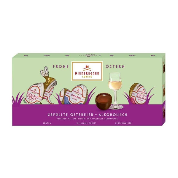 Niederegger Easter Eggs Liquor Filled - Chocolate & More Delights