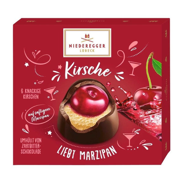 Niederegger Marzipan Cherry - Chocolate & More Delights