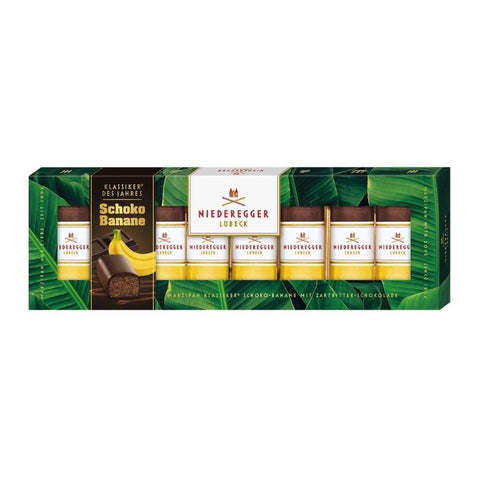 Niederegger Marzipan Chocolate & Banana - Chocolate & More Delights