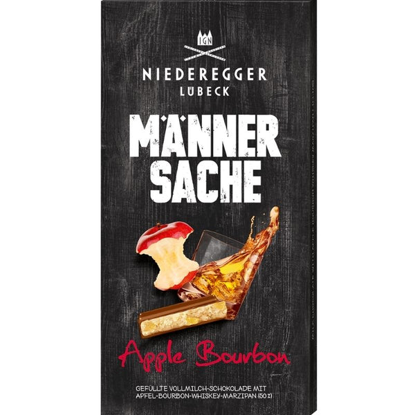 Niederegger Marzipan For Men Apple Bourbon - Chocolate & More Delights