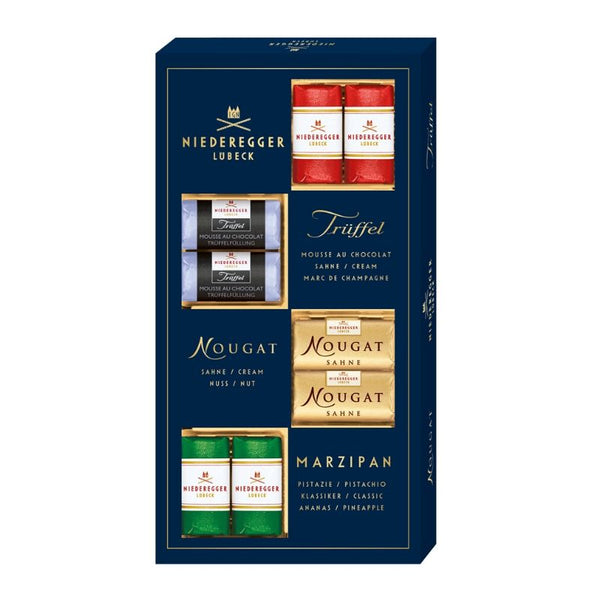 Niederegger Marzipan Variety Mix - Chocolate & More Delights