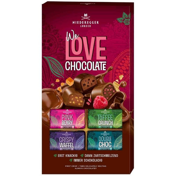 Niederegger We Love Chocolate Variety Mix - Chocolate & More Delights