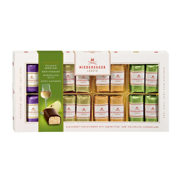 Niederegger Marzipan Pralines With Alcohol - Chocolate & More Delights