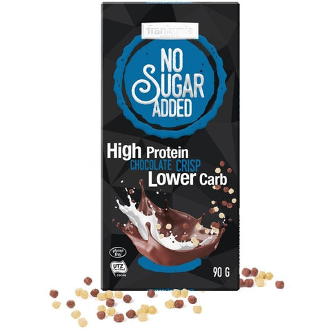 No Sugar Added High Protein Chocolate Crisp - Chocolate & More Delights