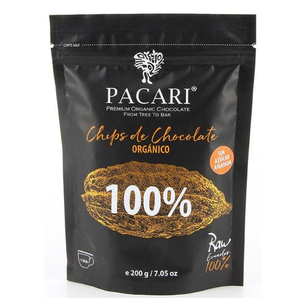 Pacari Raw Chocolate Couverture 100% - Chocolate & More Delights