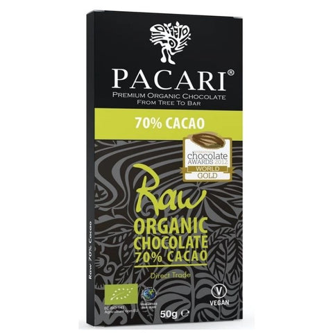 Pacari Raw Chocolate 70% - Chocolate & More Delights