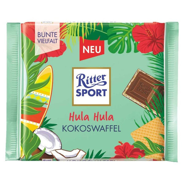 Ritter Sport Coconut Wafer -  Chocolate & More Delights