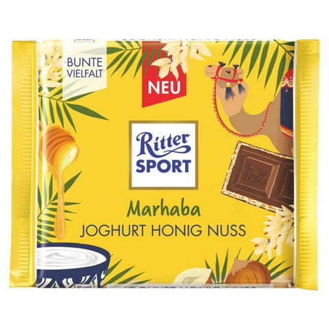 Ritter Sport Marhaba - Yogurt Honey - Nuts - Chocolate & More Delights