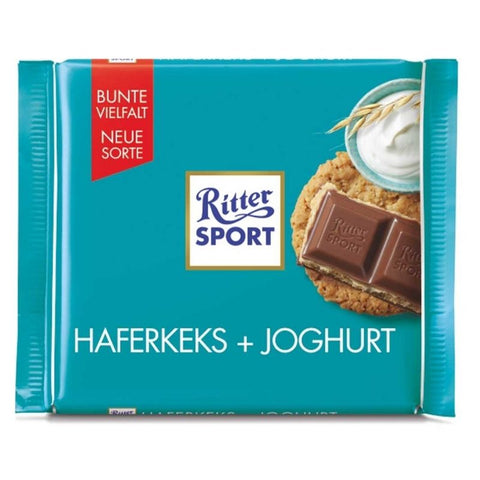 Ritter Sport Oat Cookie & Yogurt - Chocolate & More Delights