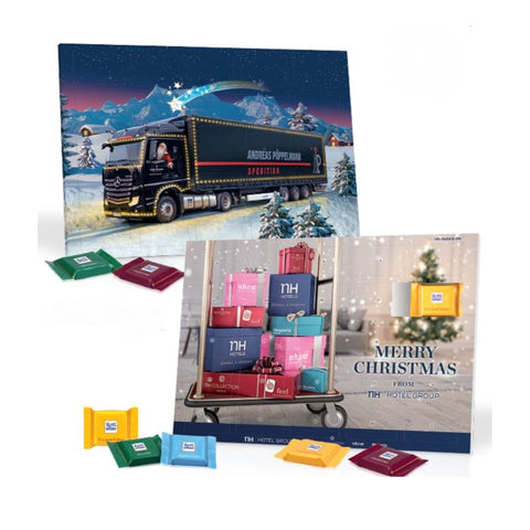 Ritter Sport Custom Table Advent Calendar - Chocolate & More Delights