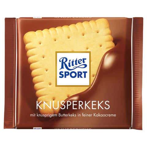 Ritter Sport Crispy Cookie - Chocolate & More Delights