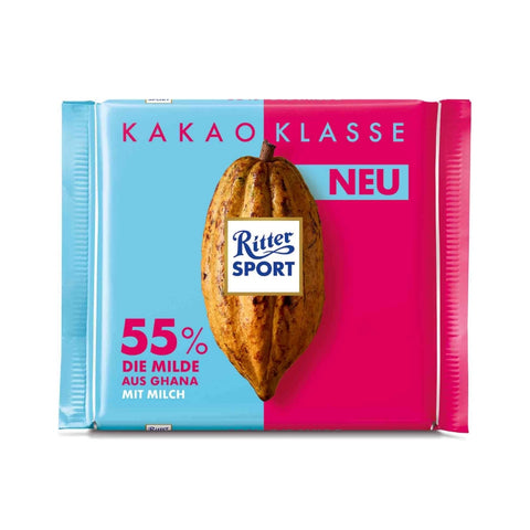 Ritter Sport Single Origin Chocolate Ghana 55% - Chocolate & More Delights