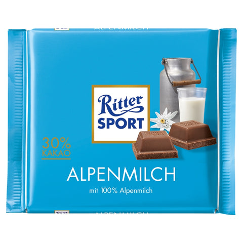 Ritter Sport Milk Chocolate - Chocolate & More Delights